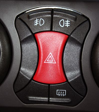 Some buttons from inside the car
