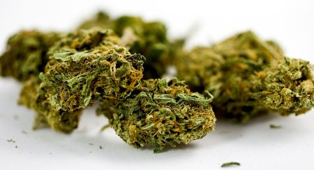 Marijuana in zoom and ganja detail Stock Photo - 4679585