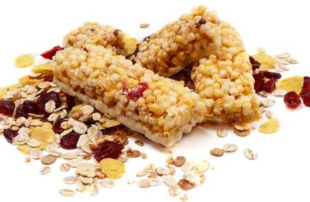 barra de cereal: Barras de Granola con Cranberrys