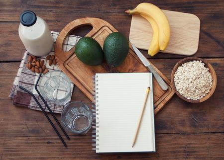 Preparing Avocado smoothie Zdjęcie Seryjne