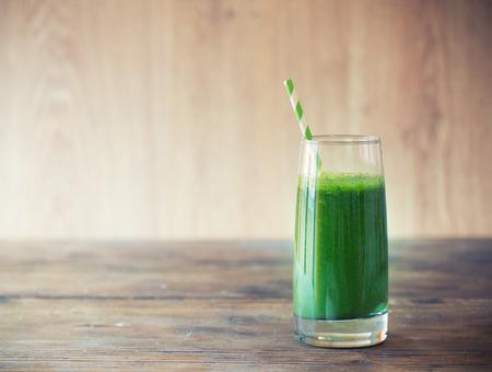 sappen: Groene smoothie