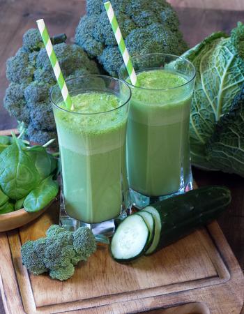Green smoothie Zdjęcie Seryjne - 34192271