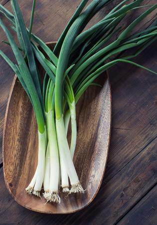 spring onion 스톡 콘텐츠