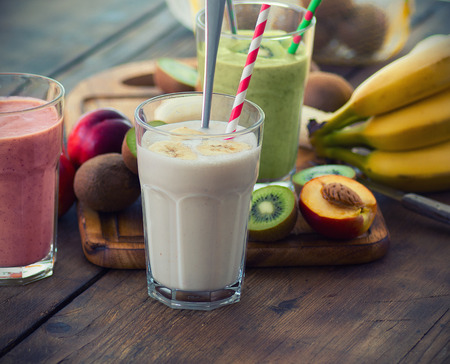 smoothie cambur: Fruit Smoothies