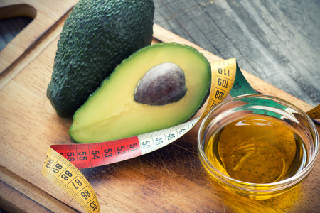 Avocado Oil Stock Photo