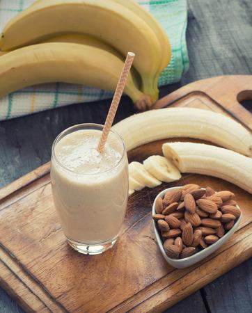 licuado de platano: Smoothie del plátano