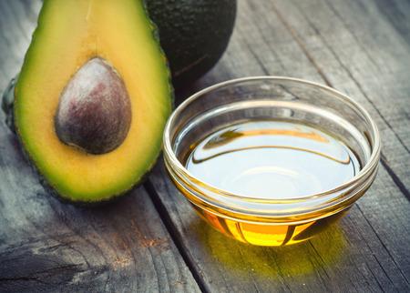 health care and medicine: Avocado Oil Stock Photo
