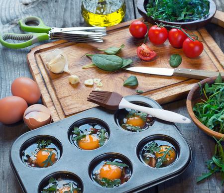 magdalenas: panecillos de huevo