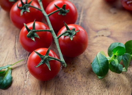 old fashioned vegetables: Cherry tomato