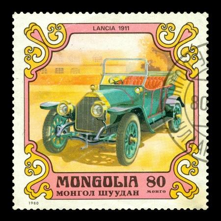 sello postal: Mongolia sello de correos 1980