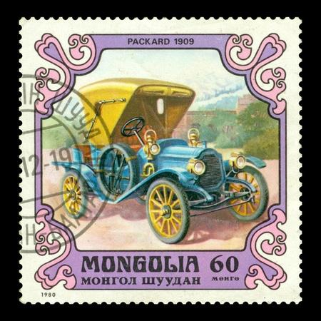 postage stamp: Mongolia postage stamp 1980