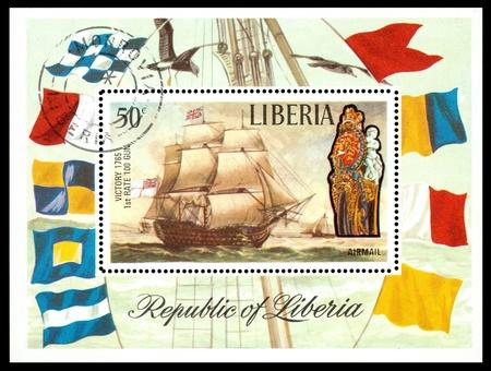 Liberia postage stamp