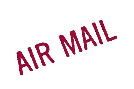 air mail stamp Stock Photo - 13459340
