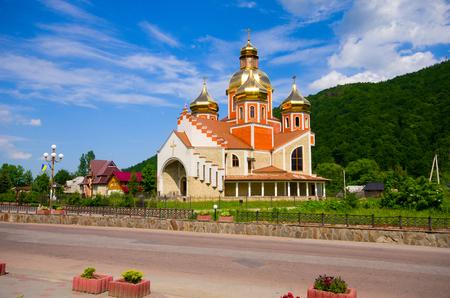 john the baptist: Church of St. John the Baptist, Yaremche, Ukraine