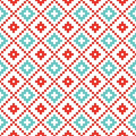 Vector beautiful seamless pattern Christmas background. Illustration