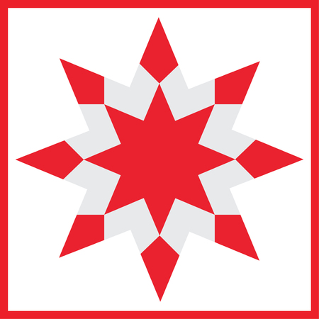 Vector star element for design for Christmas decorations.