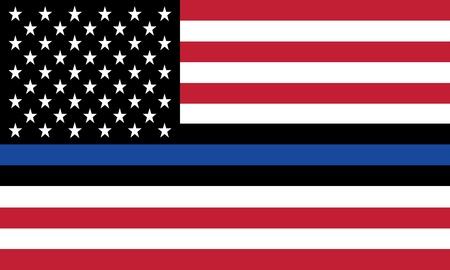 벡터 훌륭한 미국 국기 재생산 일러스트