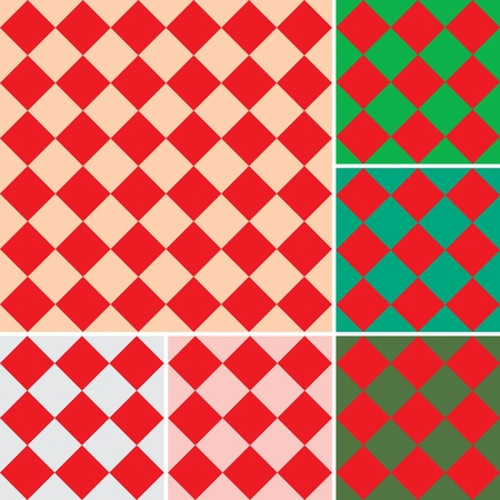 Vector Geometric patterns set for print, gift, web, scrap and patchwork.