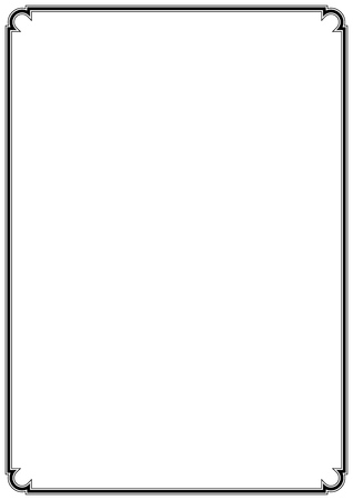 Vector simple page border for fine decorations design