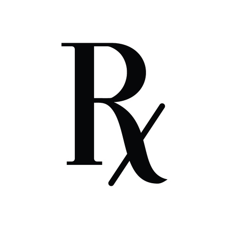 Vector Prescription - symbol of pharmacology