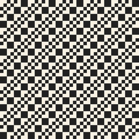 Vector monochrome seamless textile background of repeating elements 矢量图像