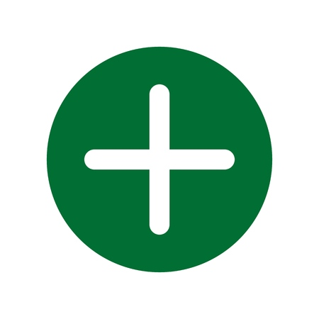 First aid. Medical cross vector icon. Medicinal and pharmacy sign. 版權商用圖片 - 126096004
