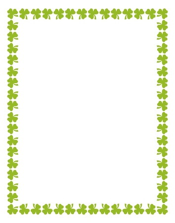 Vector St. Patricks Day Pattern for print, gift, web, scrap and patchwork Illustration