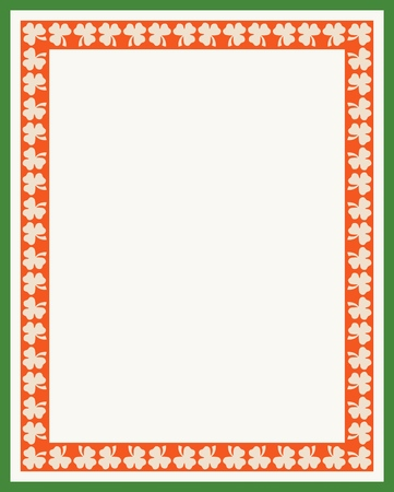 Vector St. Patrick's Day Pattern for print, gift, web, scrap and patchwork