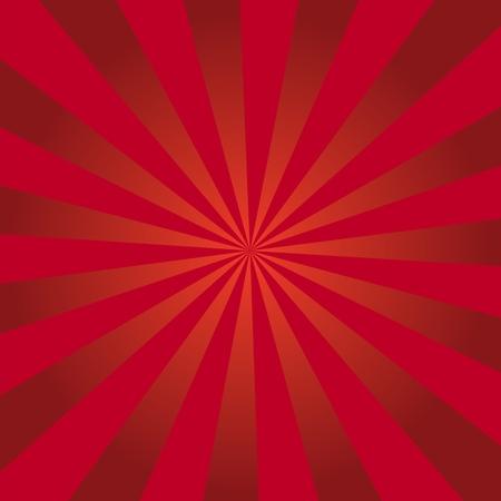 Vector Sunburst background for print, gift, web, scrap and patchwork Vektorové ilustrace