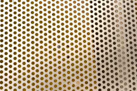 Silver metal mesh texture background.