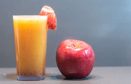 Apple juice. The apple is a relatively common fruit that has many health benefits, from controlling diabetes to improving digestion. Also consumed fresh.