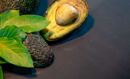Fresh avocado fruit, also known as avocado. Avocado hassle. Its peel has a less smooth texture than other avocados; Avocado is smaller than the other avocado varieties