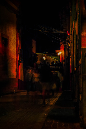 Guanajuato, Gto, MEX - August 2017: motion speed photograph