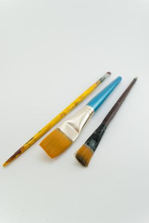 three art brushes