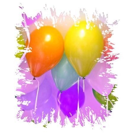 Bunte Luftballons Standard-Bild - 95248163