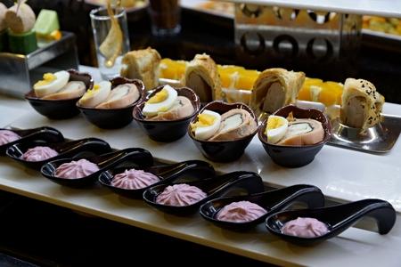 dessert in the hotel