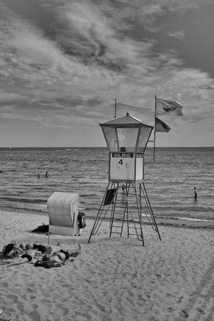 Watchtower on the sea