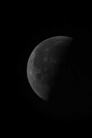 dark moon Standard-Bild - 101782450
