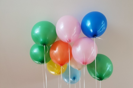 Colorful balloons Standard-Bild - 101805682