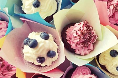 cup cake Standard-Bild - 105038371