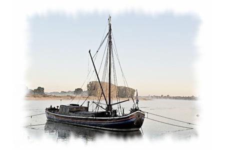Fishing on the Rhine Standard-Bild - 116295657