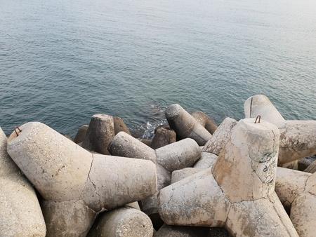coastal protection Standard-Bild - 116295863