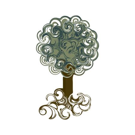 twists: vintage tree in twists
