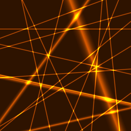 Glow Gold lines grid background