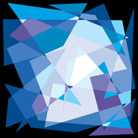 lila: Funny color mosaic background Illustration