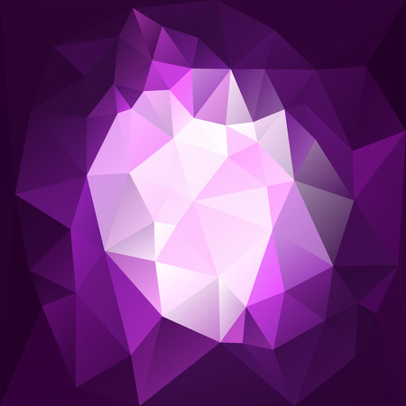 diamond background: Violet diamond background made from triangles