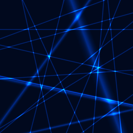 Blue laser grid or net background