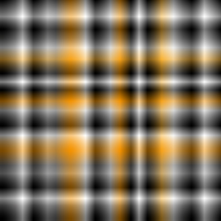 Blured crosses strips or square seamless background or pattern with white, black grey and orange Vector