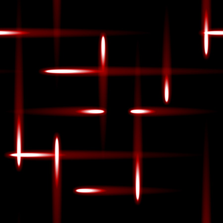 perpendicular: red drones on black background seamless background Stock Photo