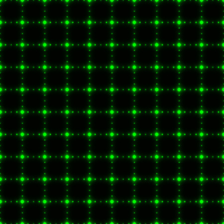 krypton: Green dotter net or grid (seamless background)